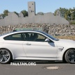 BMW M4 extreme aero spyshots 17