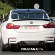 BMW M4 extreme aero spyshots 21