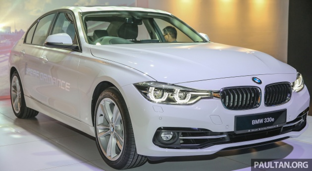 Bmw 330e Iperformance Sport Plug In Hybrid Launched Malaysia 0 100 Km H 6 1 Sec 2 L Rm249k