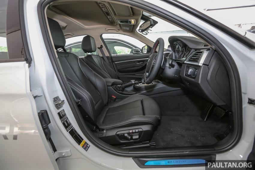 BMW 330e iPerformance Sport plug-in hybrid kini di Malaysia – 0-100 km/j 6.1 saat, 2.1l/100km, RM249k Image #540653