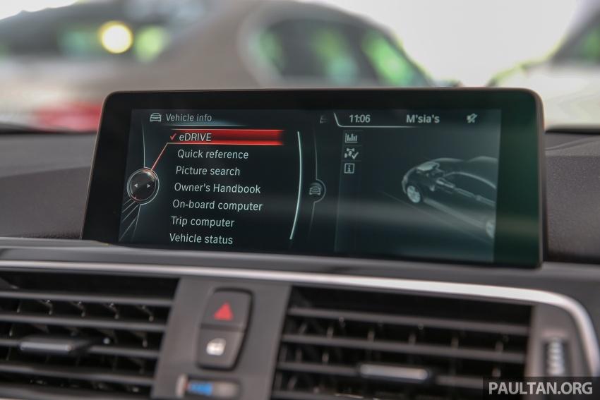 BMW 330e iPerformance Sport plug-in hybrid kini di Malaysia – 0-100 km/j 6.1 saat, 2.1l/100km, RM249k Image #540606