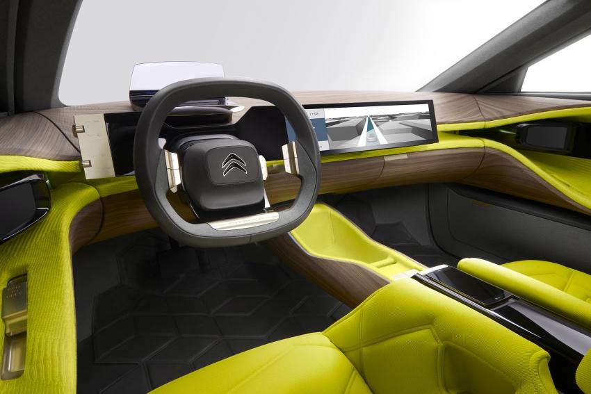 Citroen CXperience Concept unveiled, debuts in Paris Image #541472