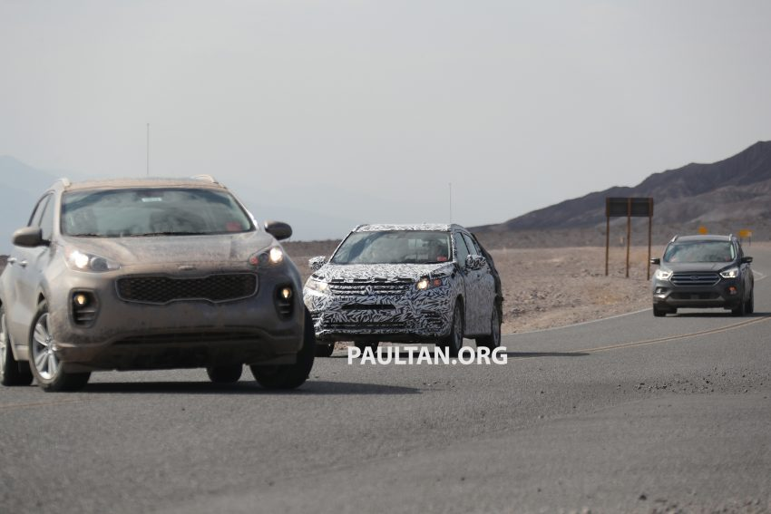 SPIED: Next-gen Mitsubishi ASX seen testing in the US Image #530961