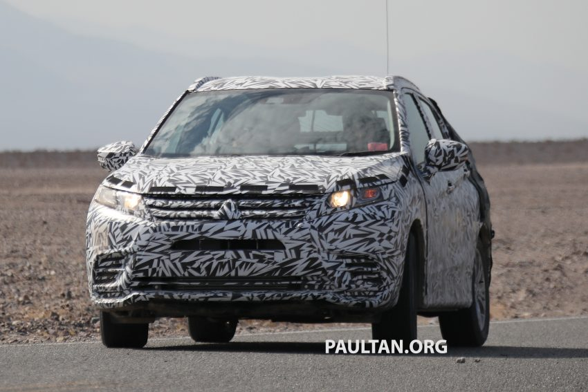 SPIED: Next-gen Mitsubishi ASX seen testing in the US Image #530962