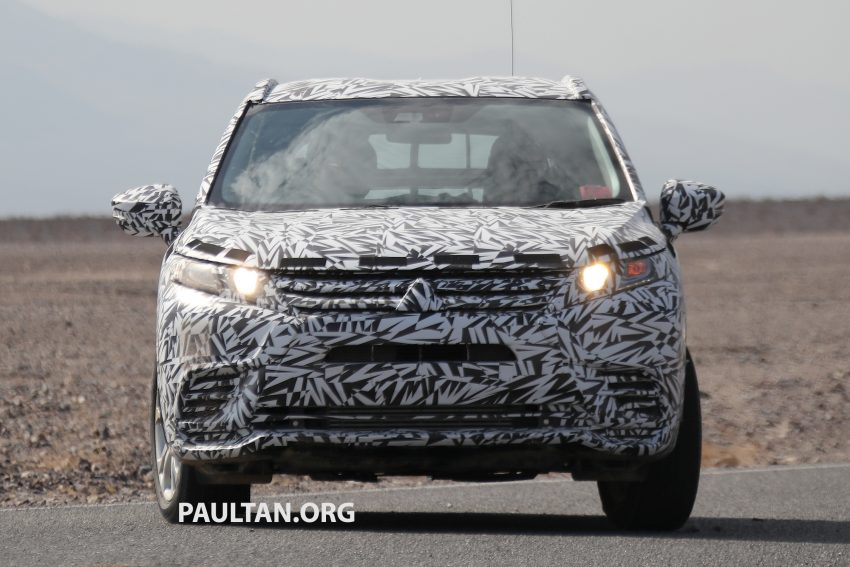 SPIED: Next-gen Mitsubishi ASX seen testing in the US Image #530963