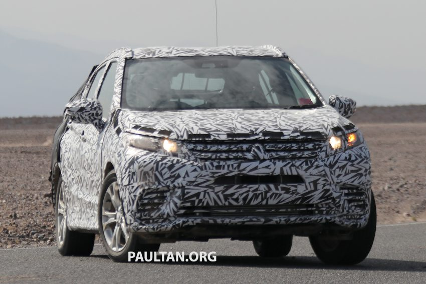 SPIED: Next-gen Mitsubishi ASX seen testing in the US Image #530965