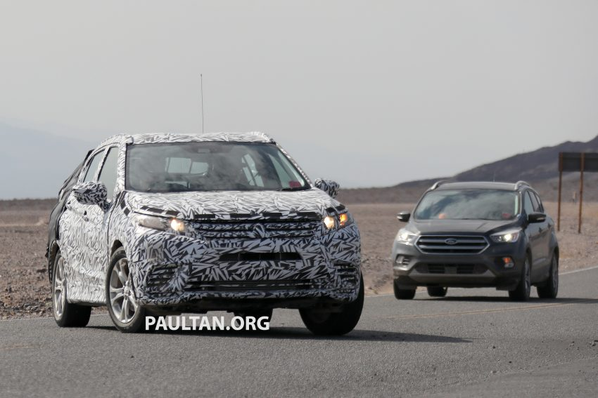 SPIED: Next-gen Mitsubishi ASX seen testing in the US Image #530966