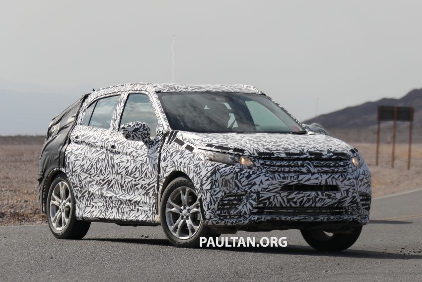 SPIED: Next-gen Mitsubishi ASX seen testing in the US Image #530968