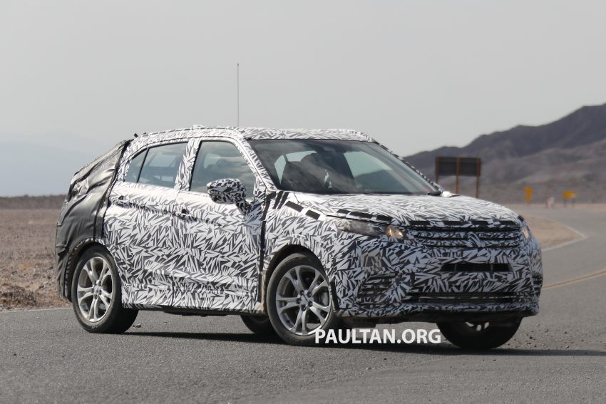 SPIED: Next-gen Mitsubishi ASX seen testing in the US Image #530969