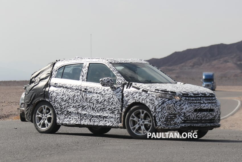 SPIED: Next-gen Mitsubishi ASX seen testing in the US Image #530971