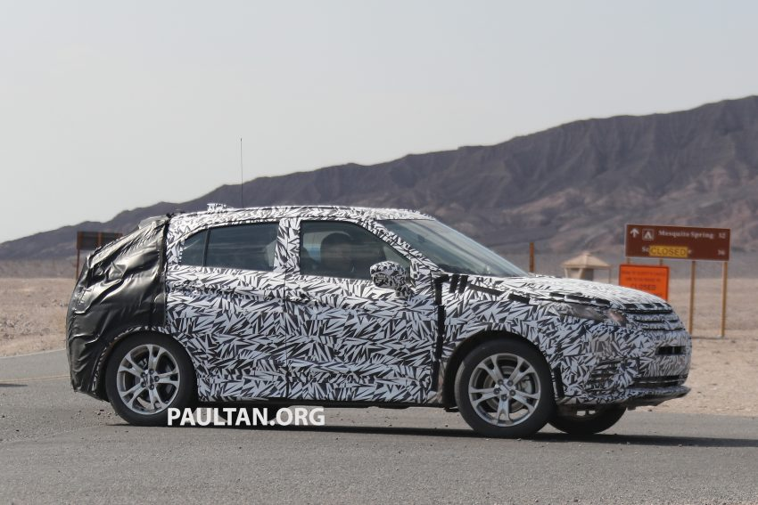 SPIED: Next-gen Mitsubishi ASX seen testing in the US Image #530973