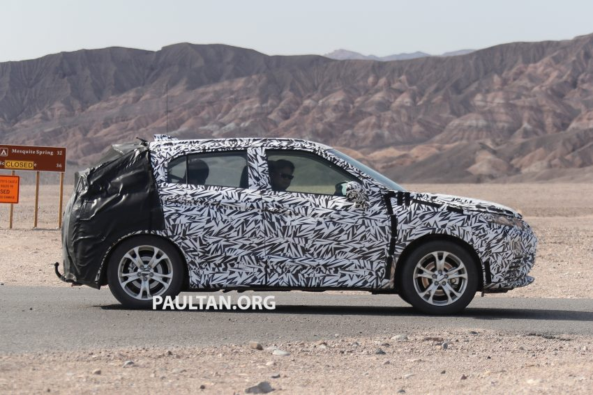 SPIED: Next-gen Mitsubishi ASX seen testing in the US Image #530974