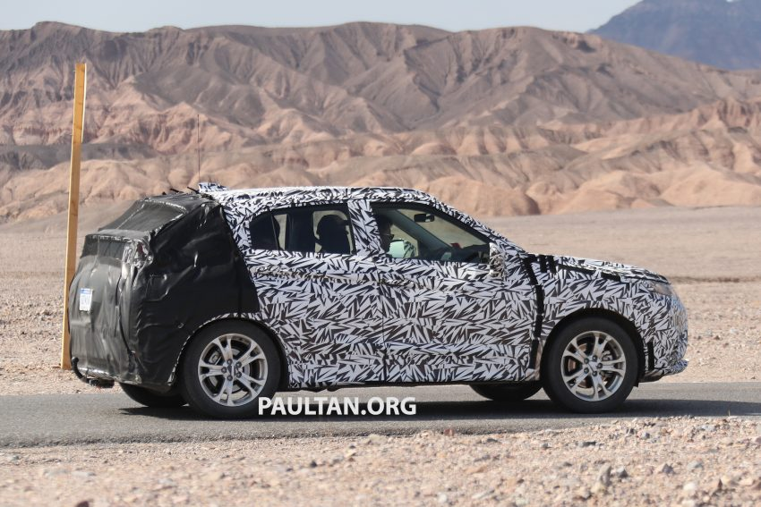 SPIED: Next-gen Mitsubishi ASX seen testing in the US Image #530975