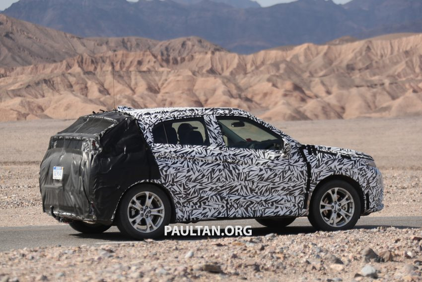 SPIED: Next-gen Mitsubishi ASX seen testing in the US Image #530976