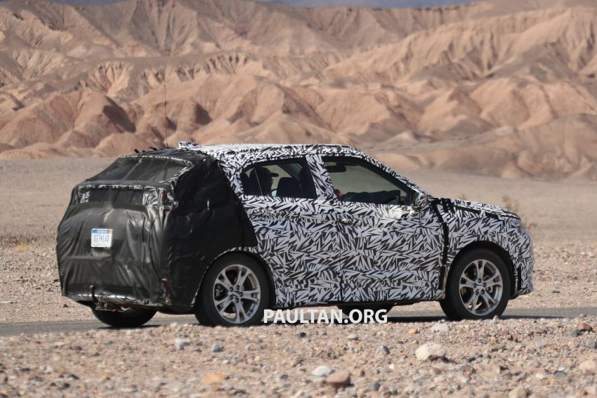 SPIED: Next-gen Mitsubishi ASX seen testing in the US Image #530977