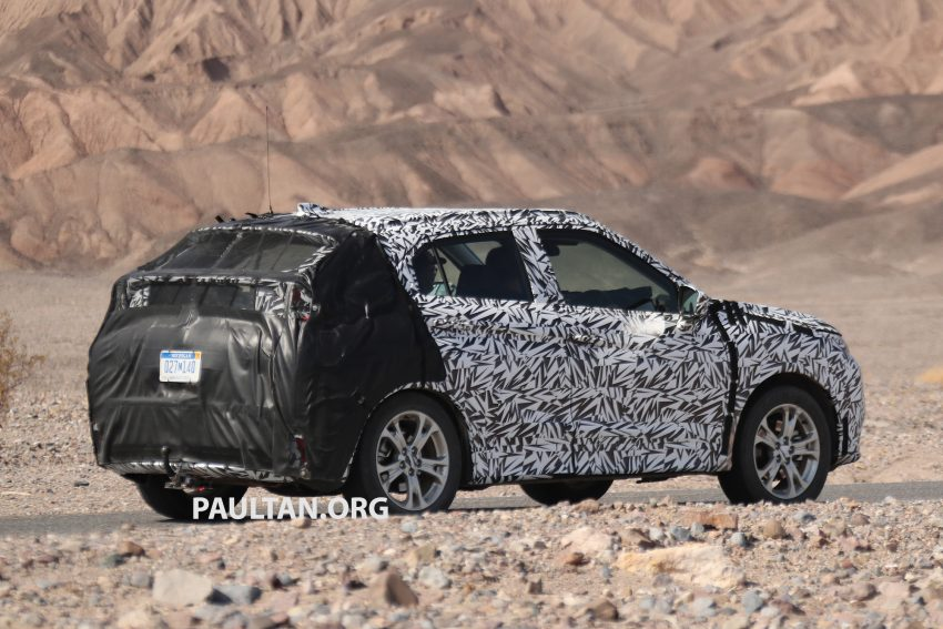 SPIED: Next-gen Mitsubishi ASX seen testing in the US Image #530979