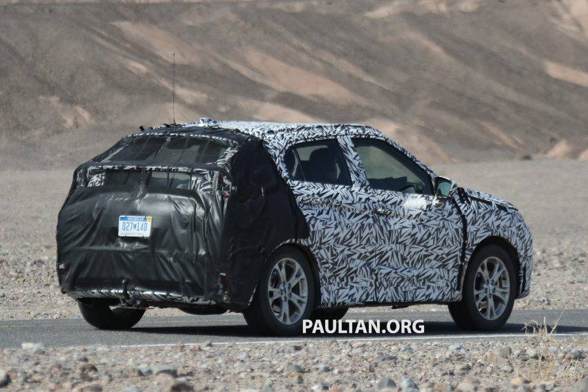 SPIED: Next-gen Mitsubishi ASX seen testing in the US Image #530981