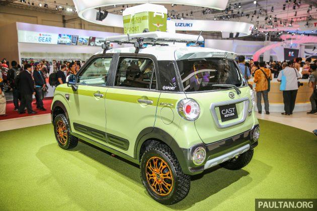 GIIAS 2016: Daihatsu Cast Activa, Kei-car For The Active