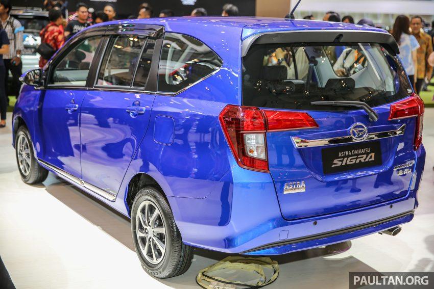 GIIAS 2016: Daihatsu Sigra, Toyota Calya's twin sister Image #533226