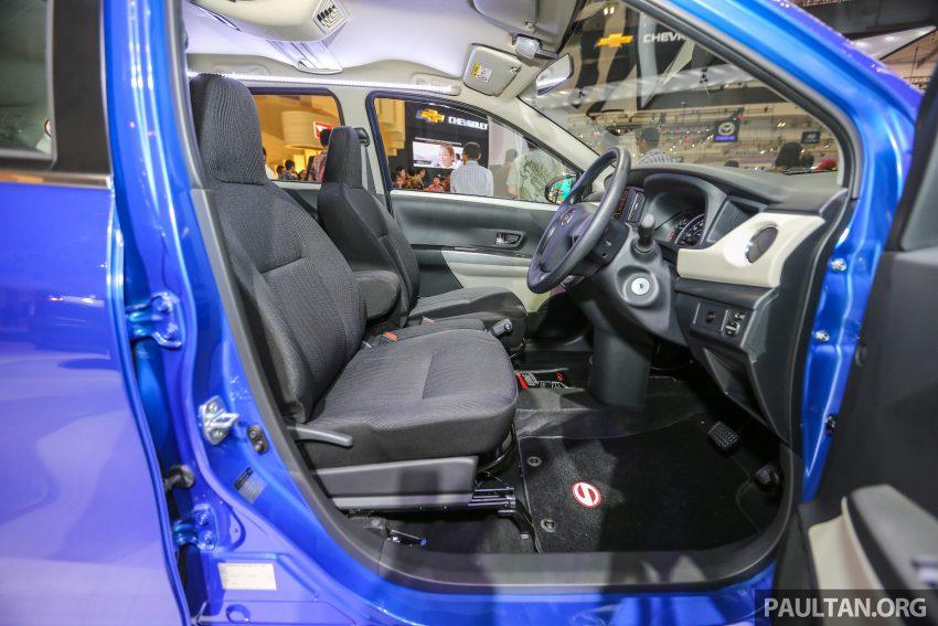 GIIAS 2016: Daihatsu Sigra, Toyota Calya's twin sister Image #533272