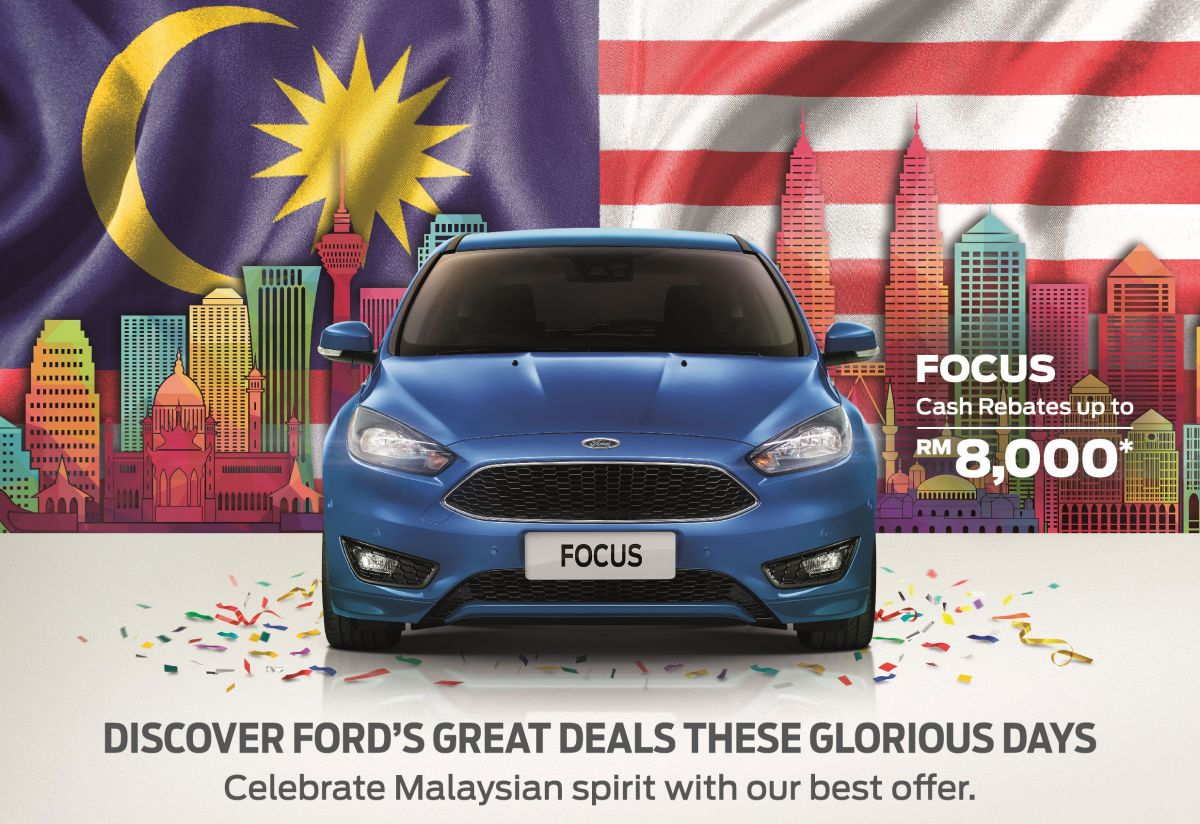 Ford national day promo rebates up to rm15k