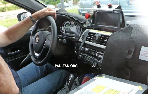 Spyshots G20 Bmw 3 Series Caught Interior Seen