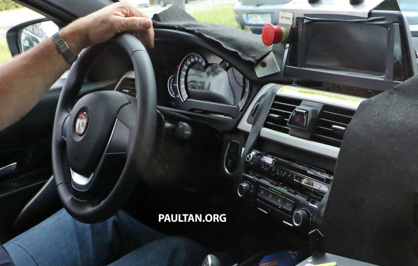 SPYSHOTS: G20 BMW 3 Series caught, interior seen Image #531911