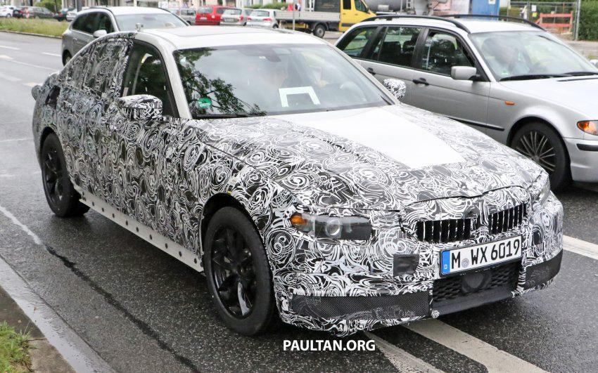 SPYSHOTS: G20 BMW 3 Series caught, interior seen Image #531913