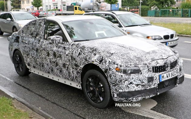 G20 BMW 3 Series spyshots 5