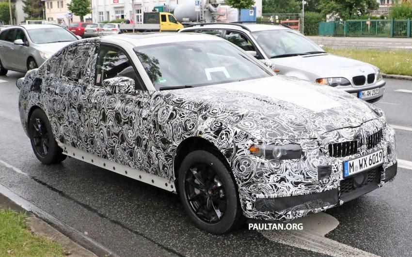 SPYSHOTS: G20 BMW 3 Series caught, interior seen Image #531915