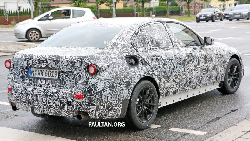 SPYSHOTS: G20 BMW 3 Series caught, interior seen Image #531919