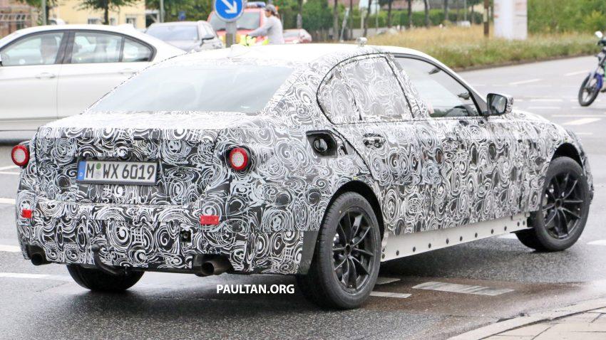 SPYSHOTS: G20 BMW 3 Series caught, interior seen Image #531920