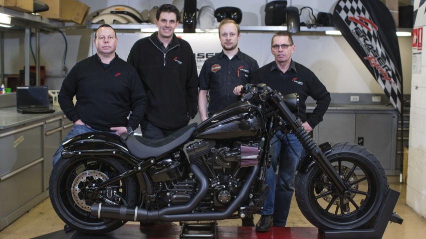 Harley Davidson Black Panther Ferocious Breakout Panter