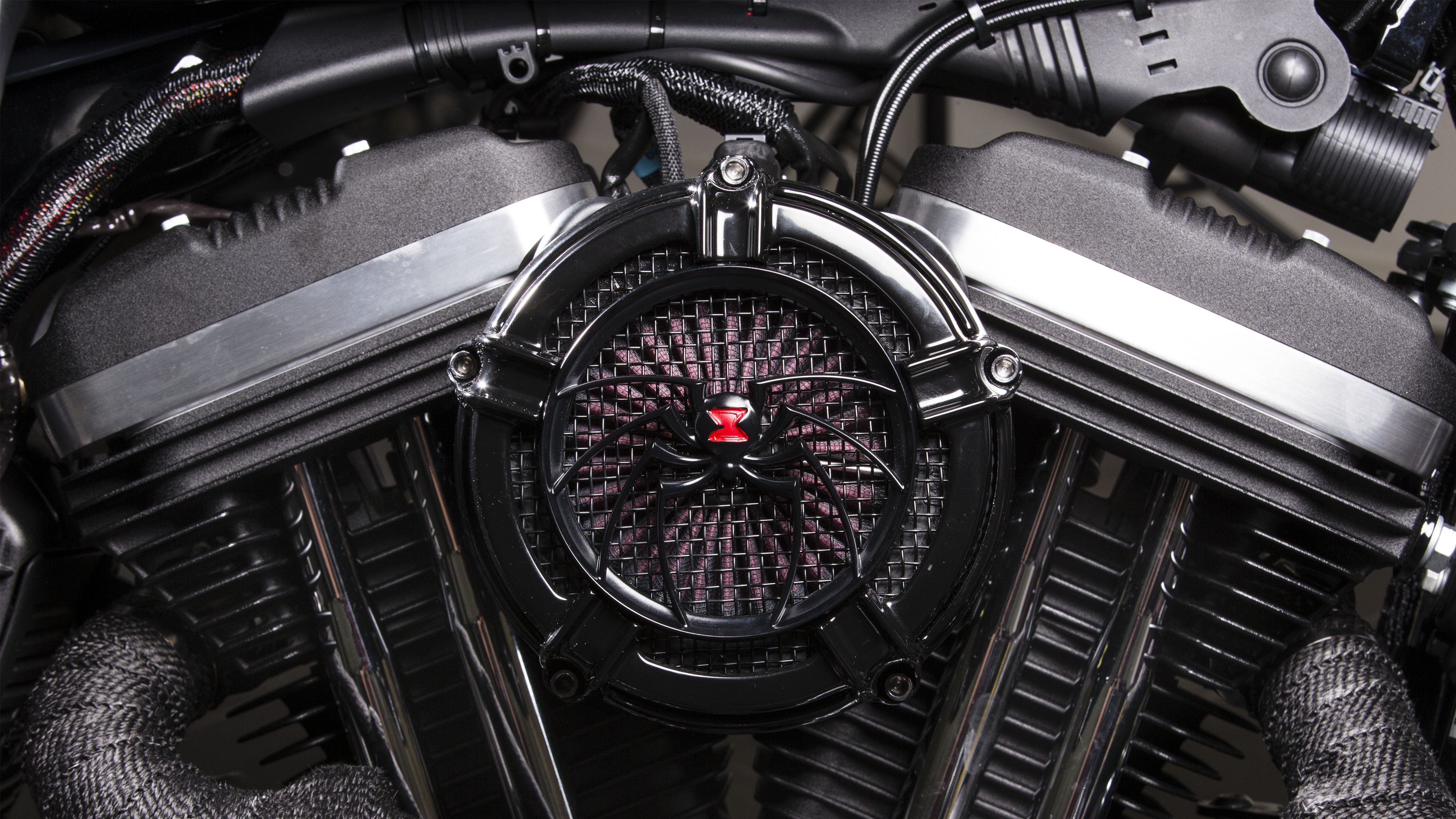 Harley Davidson Iron Black