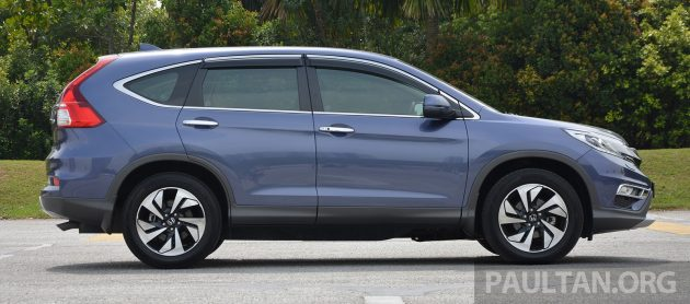 Honda CR-V Facelift Review 13