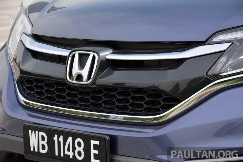 DRIVEN: Honda CR-V facelift – easy like Sun morning Image #531492