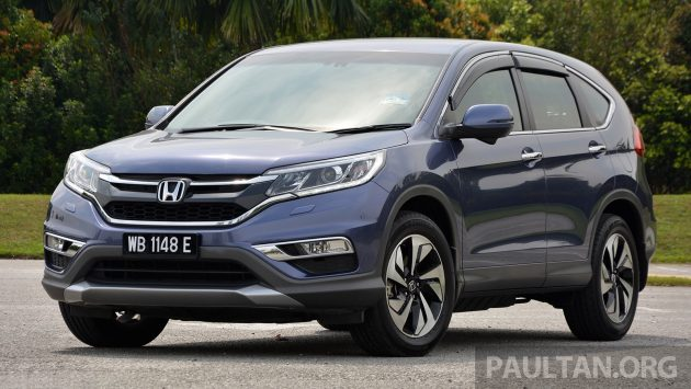 Honda CR-V Facelift Review 16