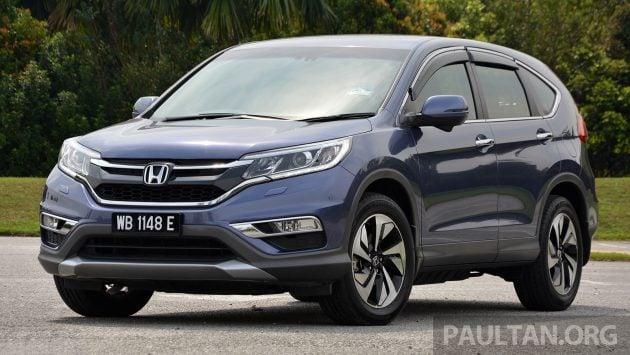 Honda CR-V Facelift Review 16