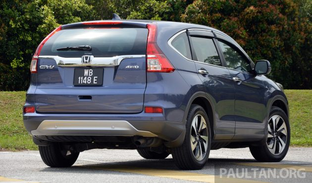 Honda CR-V Facelift Review 2
