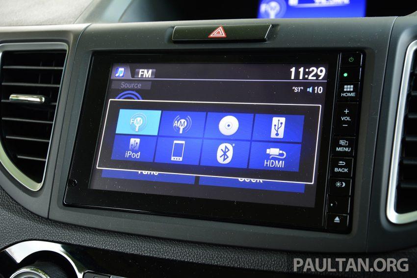 DRIVEN: Honda CR-V facelift – easy like Sun morning Image #531505