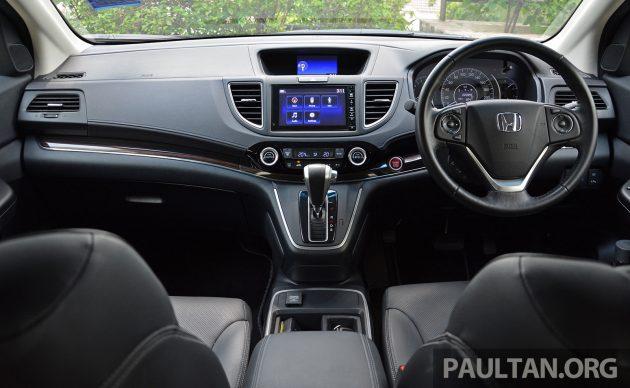 Honda CR-V Facelift Review 43