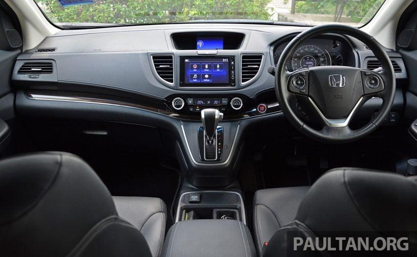 DRIVEN: Honda CR-V facelift – easy like Sun morning Image #531527