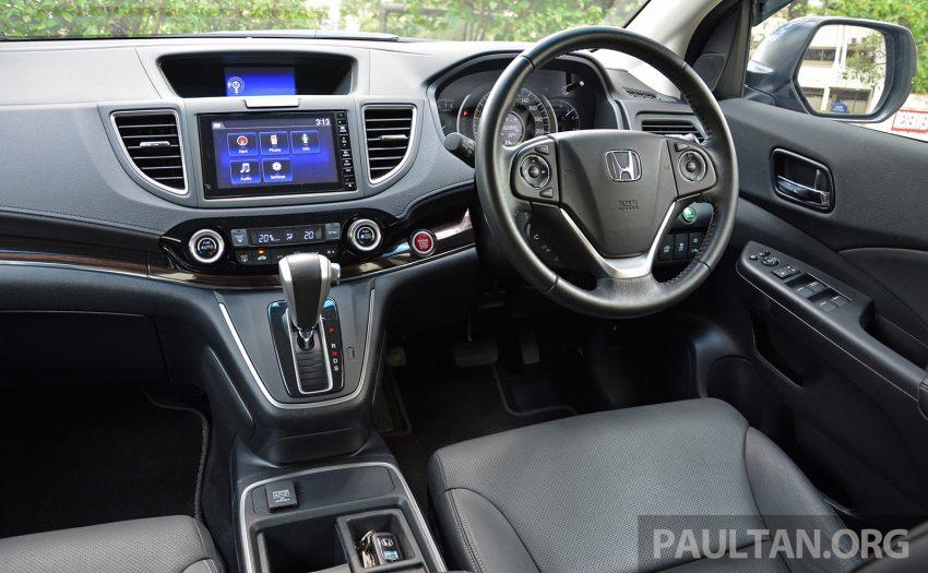 DRIVEN: Honda CR-V facelift – easy like Sun morning Image #531529
