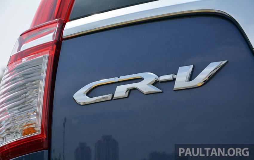 DRIVEN: Honda CR-V facelift – easy like Sun morning Image #531483