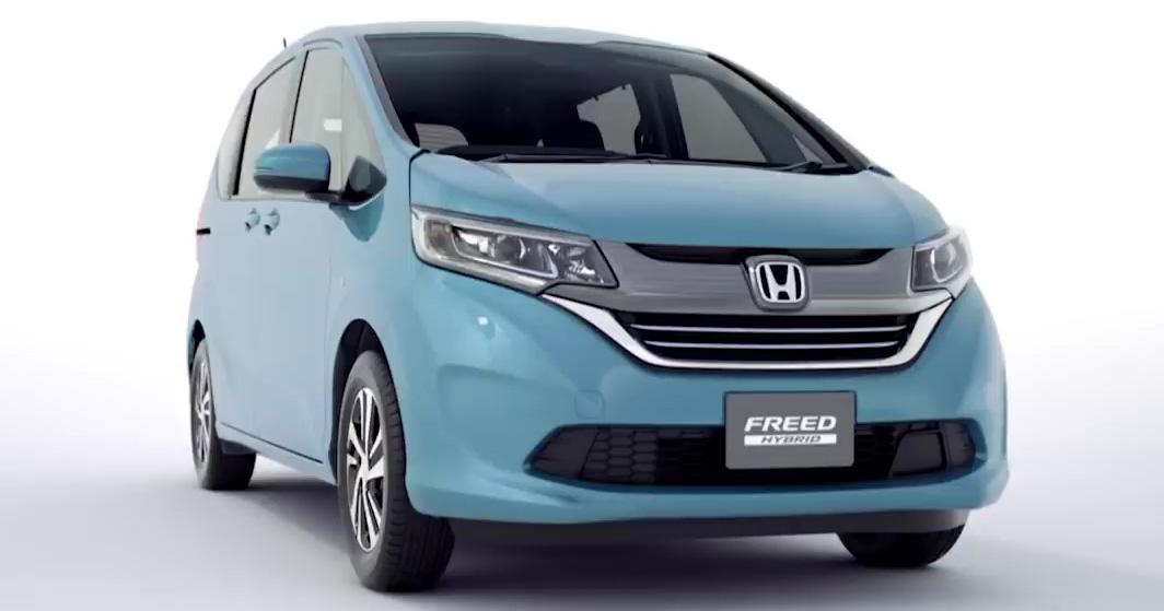 2016 Honda Freed Dual Clutch Hybrid Honda Sensing