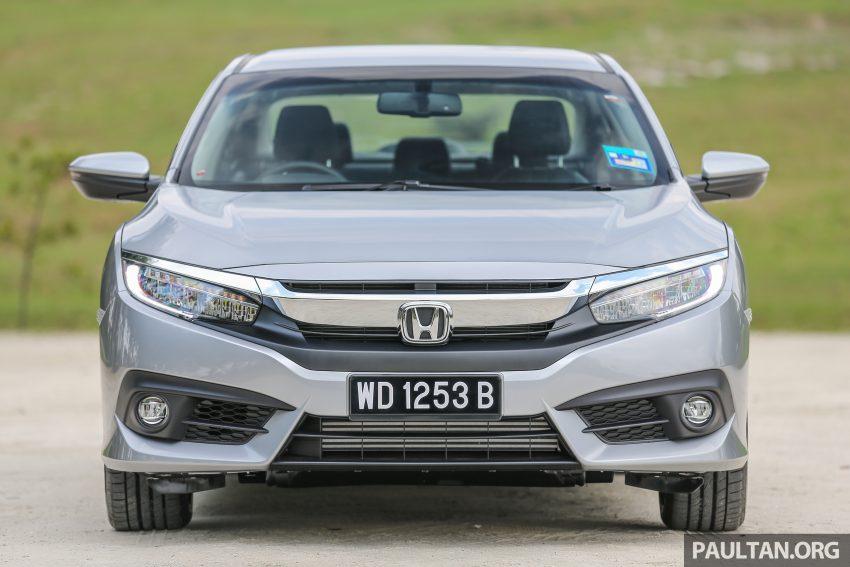 GALERI: Honda Civic 1.5T Premium  2016 di Malaysia Image #527867