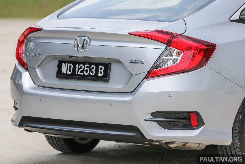 GALERI: Honda Civic 1.5T Premium  2016 di Malaysia Image #527888
