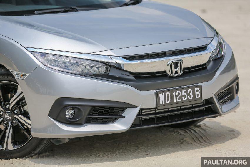 GALERI: Honda Civic 1.5T Premium  2016 di Malaysia Image #527870