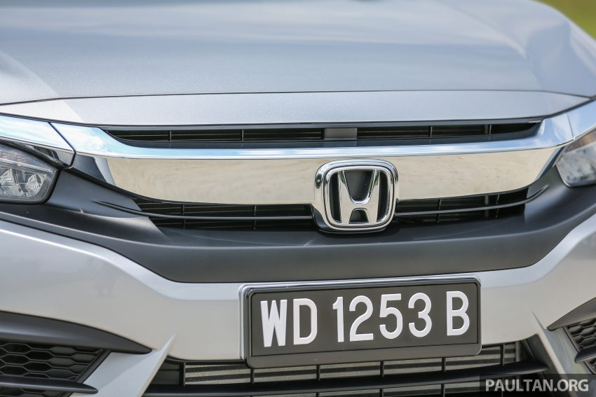 GALERI: Honda Civic 1.5T Premium  2016 di Malaysia Image #527873
