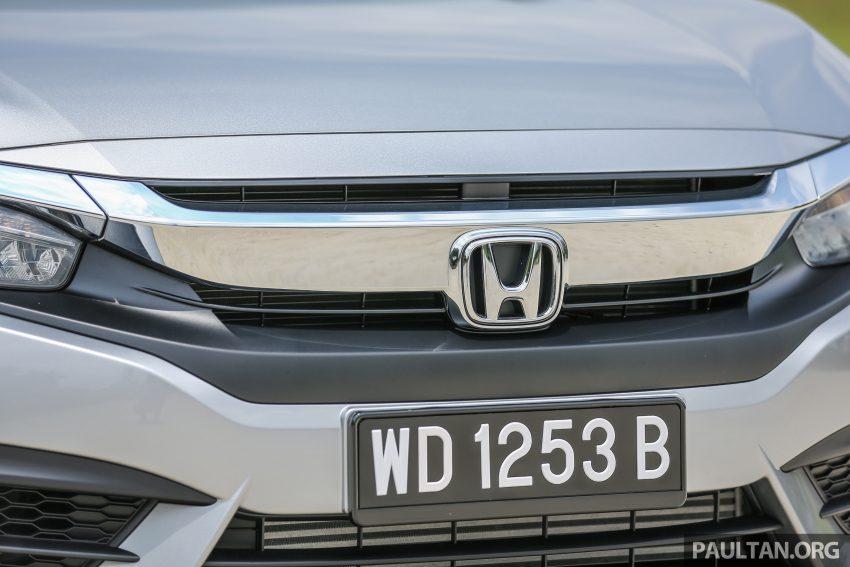 Honda Civic 2018 >> GALLERY: 2016 Honda Civic 1.5T Premium in Malaysia Paul Tan - Image 527533